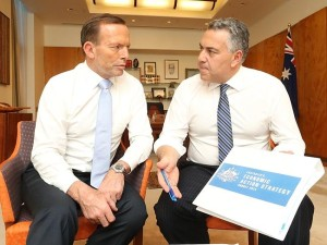 Tony Abott Joe Hockey Federal Budget 2014