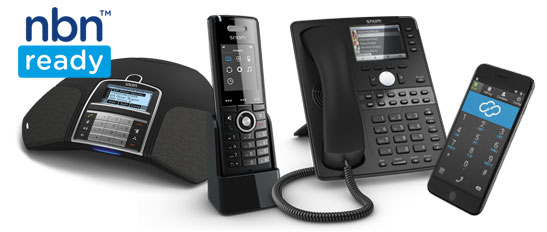 Hosted PBX nbn ready Snom Handsets Cloud Telecom
